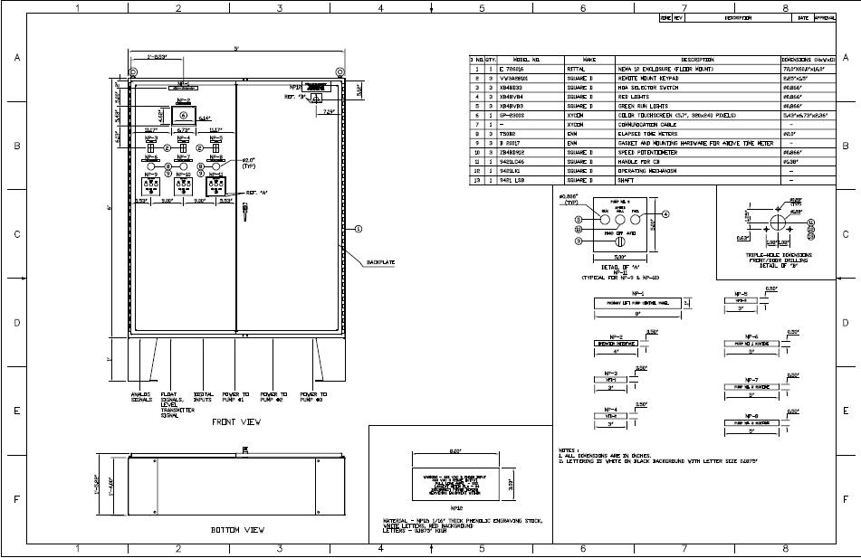 how to read electrical control panel drawings